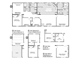 Home Floor Plans Texas The Homerun Hr30724r Or Ft32724a Manufactured Home Floor Plan Or