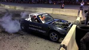 lexus v8 miata burnout boss see this v8 miata blow up while roasting tires