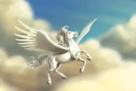 pegasus winged horse of greek mythology