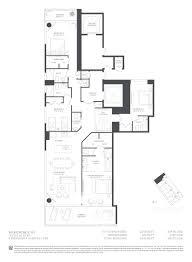 condominium plans paraiso bay miami condo floor plan 01