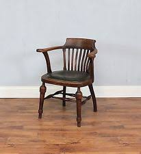 Antique Captains Chair Captains Desk Chair Ebay