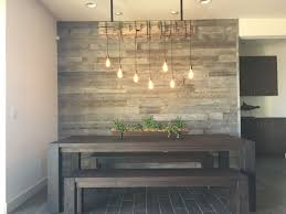 reclaimed wood wall table 19 awesome accent wall ideas to transform your living room wall