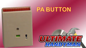 how to wire a pa button to a burglar alarm youtube