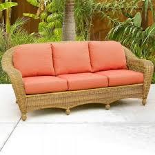 Rattan Sleeper Sofa Furniture Attractive Wicker Sofa For Home Furniture U2014 Jecoss Com