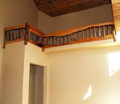 wood stair railings photos log stairs stair rails wood