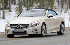 2018 mercedes benz s class coupe and cabrio to debut at 2017