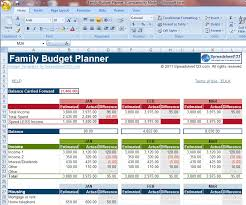 Family Budget Excel Template 1830 Gif