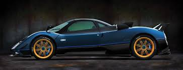 blue pagani zonda pagani automobili unveils one off edition zonda tricolore