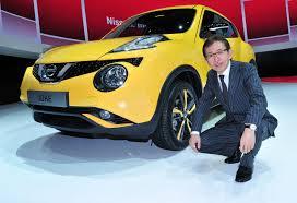 nissan juke yellow 2017 geneva 2017 shiro nakamura on nissan u0027s direction car design news