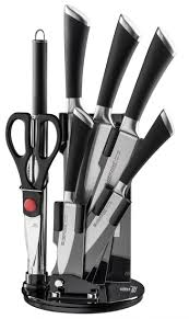 kitchen herzog 8 piece knife set with acrylic stand also best herzog 8 piece knife set acrylic stand best sharp high quality nonstick coating kitchen knives great