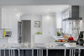 white and gray kitchen design inspiration