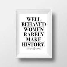 printable history quotes well behaved women rarely make history on ladies tank top cotton in