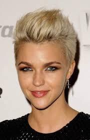 mohawk haircut pesquisa google hair pinterest short