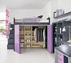 stunning loft beds for teens contemporary small bedroom ideas