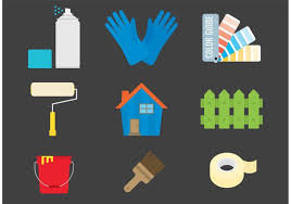 Painting Icon Painting And Home Vector Icons Download Free Vector Art Stock