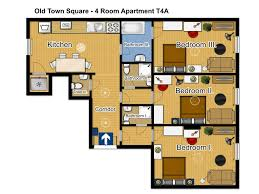 3 Room Apartment by Family 4 Room 3 Bathroom Apartment T4a Apartments Prague