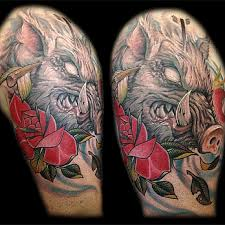 bear hunting tattoo designs pictures to pin on pinterest tattooskid