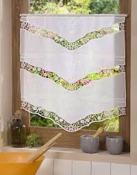 macrame lace tier curtain venise