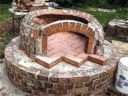 Build Brick Oven Backyard by How To Build A Pizza Oven Pinkbird