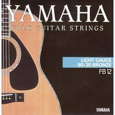 Light Guitar Strings by Steel String Acoustic Guitar Yamaha Fb12 Light 012 053 From
