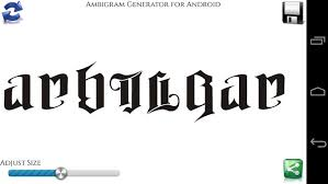Ambigram Maker Free Ambigram Generator Apk Free Entertainment App For Android