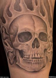 cross bone and skull tattoos photos pictures and sketches