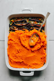 lentil sweet potato shepherd s pie minimalist baker recipes