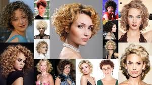 permed hairstyles permed hairstyles for short hair best 32 curly short haircut