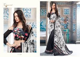 tatvam issue vol12 t m designer studio wear saree
