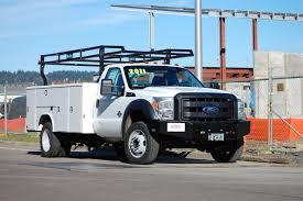 Ford F250 Utility Truck - work fleet buckstop truckware