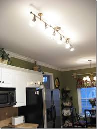Overhead Lighting Tour My Home Antique Brass Lowes And Spotlight