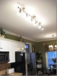 Fluorescent Ceiling Light Fixtures Kitchen Tour My Home Antique Brass Spotlight And Kitchens