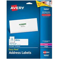 avery easy peel white address labels 18262 1 1 3