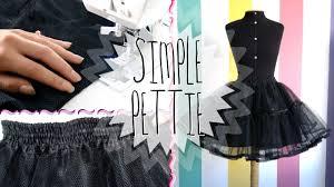 how to make a petticoat diy a petticoat melikestea
