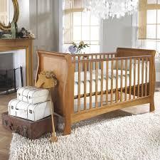 Natural Wood Convertible Crib by Dark Wood Crib Gender Neutral Nursery Design Features Dark Wood