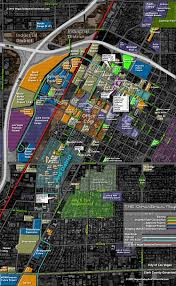 Las Vegas Map Of Hotels by The Downtown Vegas Map