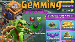 gemming builders hall 7 giant cannon september update youtube