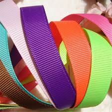 grosgrain ribbons factory wholesale 100 polyester grosgrain ribbon for packaging