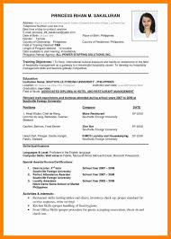 Best And Updated Resume Format by 10 New Updated Resume Format Sales Clerked