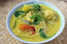 cuisine n駱alaise cuisine malaise traditionnelle d ayam masak lemak image stock
