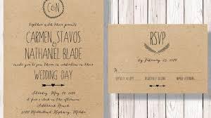 kraft paper wedding invitations top 20 great kraft paper wedding invitations amazing printable