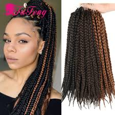 crochet braiding hair for sale crochet box braids black hair extensions synthetic curly crochet