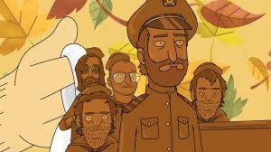 bob s burgers animates the national singing thanksgiving song