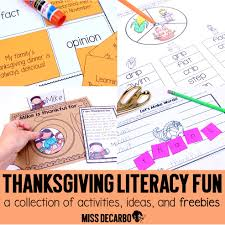 thanksgiving vocabulary pictures curriculum archives miss decarbo