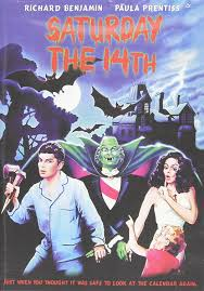 amazon com saturday the 14th richard benjamin paula prentiss