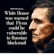 White Russian Meme - officials white house was warned that flynn could be vulnerable to