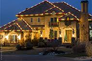 red and white alternating led christmas lights outdoor christmas lights ideas for the roof