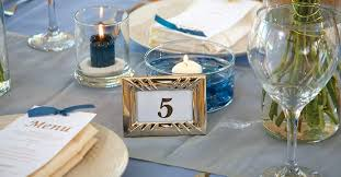 decorations for weddings fancy for less framed table
