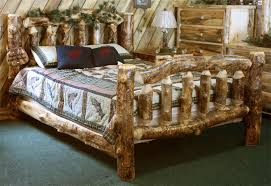 log bedroom furniture log bedroom furniture log bed frames amish rustic log bed from
