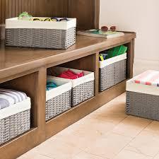 Decorative Storage Boxes Fabric Baskets & Closet Clothes Boxes